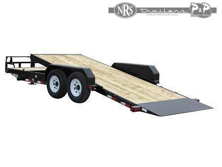 2021 PJ Trailers 6 in. Channel Tilt (T6) T6J24Y2BTTK 24 ' Flatbed Trailer