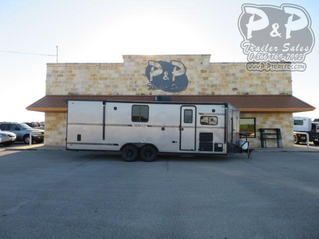 2020 Stealth Trailers Nomad 24FK 26 ' Toy Hauler RV