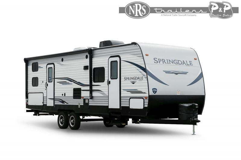2021 Keystone RV Springdale 27TH 376 Toy Hauler RV