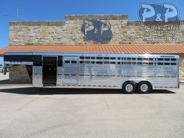 2020 Bloomer 8x29 Club Calf Livestock Trailer