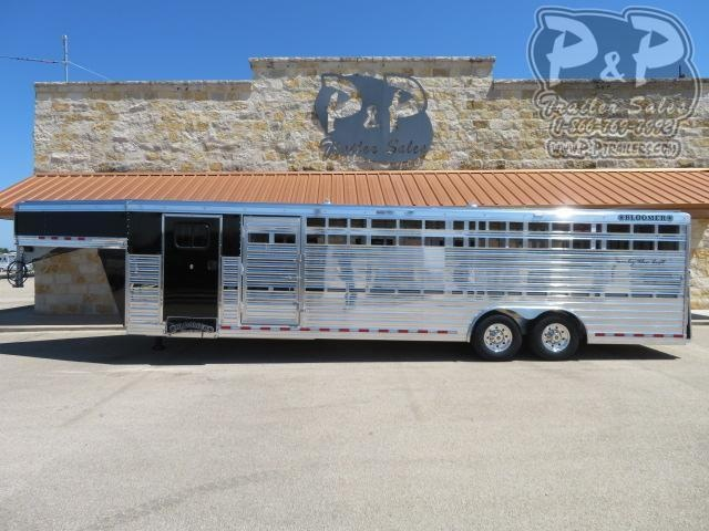 2021 Bloomer 8x29 Club Calf 29 ' Livestock Trailer
