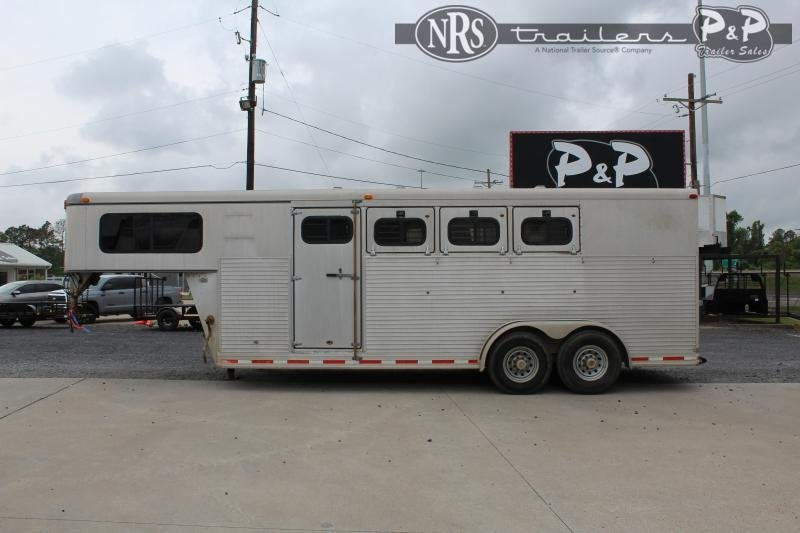 1998 Other Monterey Lite 4HGN 4 Horse Slant Load Trailer