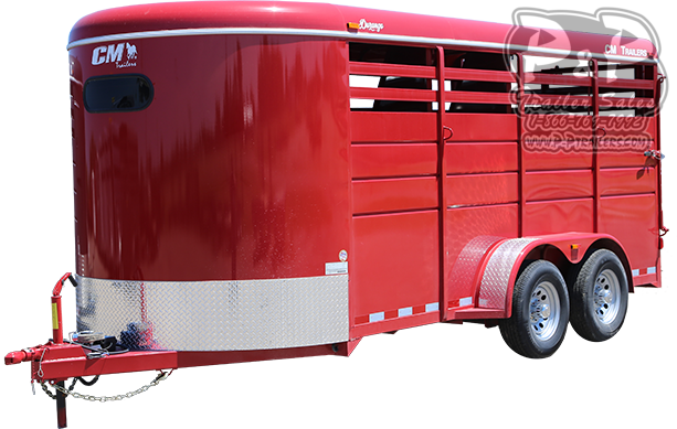 2021 CM Durango 3 Horse Slant Load Trailer