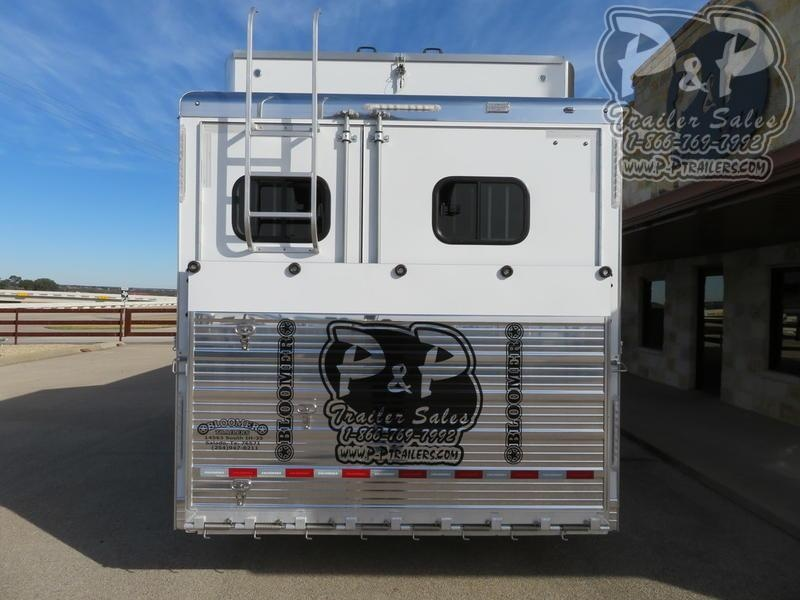 2020 Bloomer Trainer 7 Horse Slant Load Trailer w/ Ramps