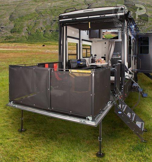 2020 Keystone Fuzion 410 TOY HAULER 43.58 ft Toy Hauler RV