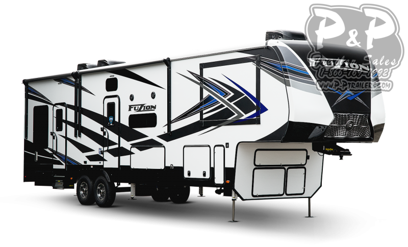 "2021 Keystone RV Fuzion 410 523 "" Toy Hauler RV"