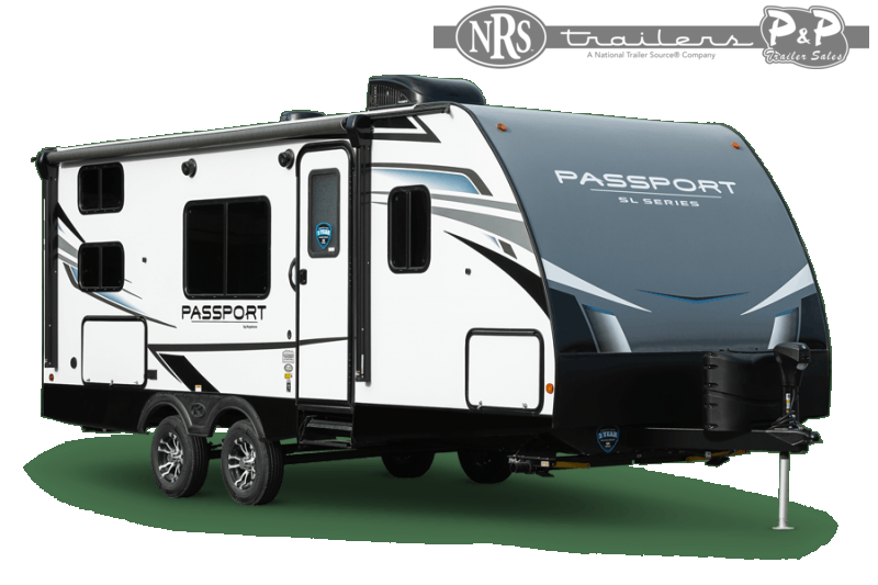 2021 Keystone RV Passport SL 221BH 26 ' Travel Trailer RV