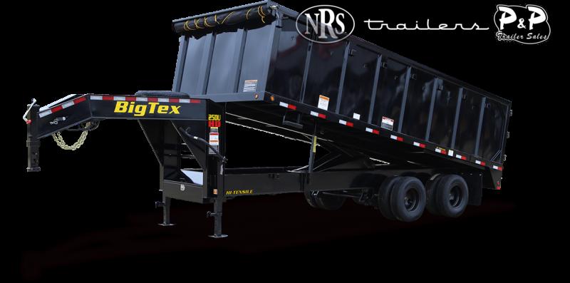 2022 Big Tex Trailers 25DU-20BK8SIR 20 ' Dump Trailer