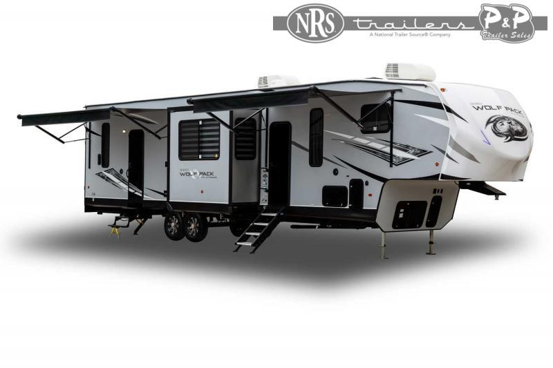 2022 Forest River Wolf Pack 345PACK14.5 Toy Hauler RV