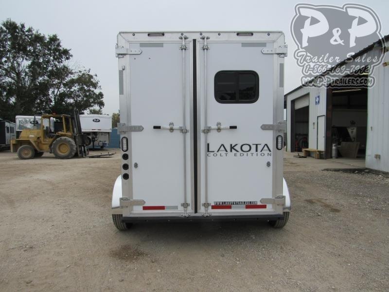 2021 Lakota Colt AC27NS 2 Horse Slant Load Trailer 7 FT LQ
