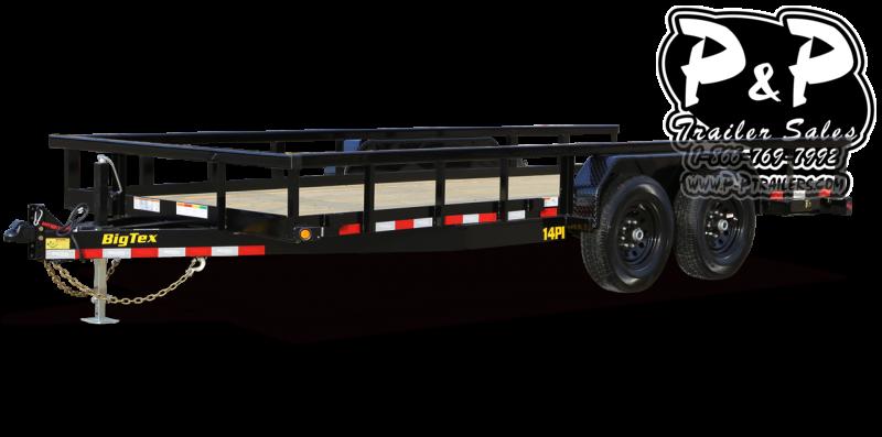 2021 Big Tex Trailers 14PI 18BK Utility Trailer