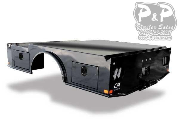 CM WD Steel Skirted Welder Truck Bed