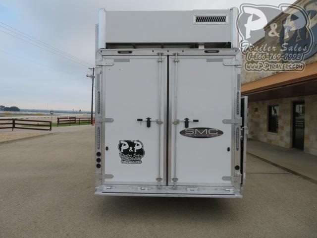 2020 SMC Horse Trailers SL8418SBBSRBRSL 4 Horse Slant Load Trailer 18 FT LQ With Slides