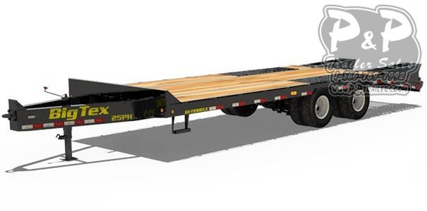 2021 Big Tex Trailers 25PH-20+5 Equipment Trailer