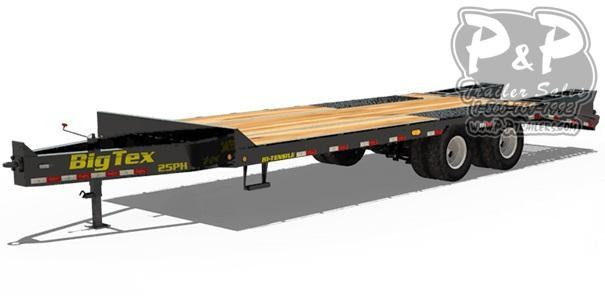 2021 Big Tex Trailers 25PH-20+5 Equipment Trailer