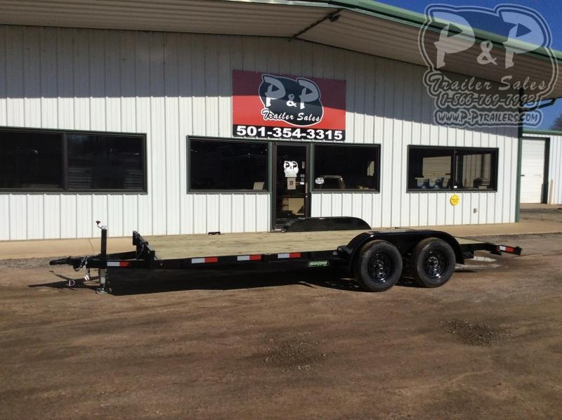2020 Wicked Trailer Manufacturing CH8218TA 18 ' Flatbed Trailer