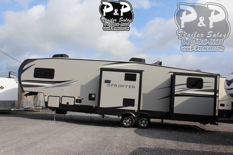 2021 Keystone RV Sprinter Campfire 32FWBH Fifth Wheel Campers RV