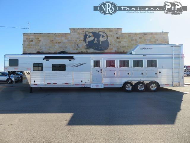 2021 SMC Horse Trailers SL8513SSRTRSL 5 Horse Slant Load Trailer 13 FT LQ w/ Slideouts