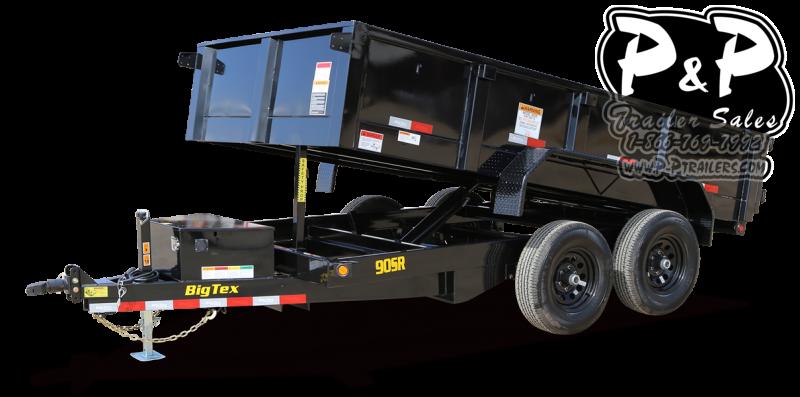 2021 Big Tex Trailers 90SR 10BK7SIR Dump Trailer