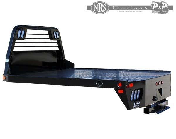 2021 CM SS Steel Flat Deck Body 94x94x60 9 ' Truck Bed