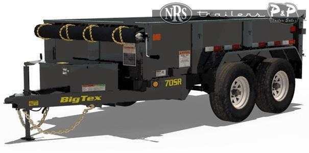 2021 Big Tex Trailers 70SR 10 10 Dump Trailer