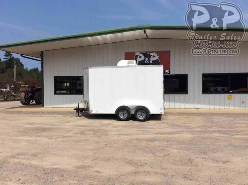 2020 Lark VT712TA 12 ' Enclosed Cargo Trailer