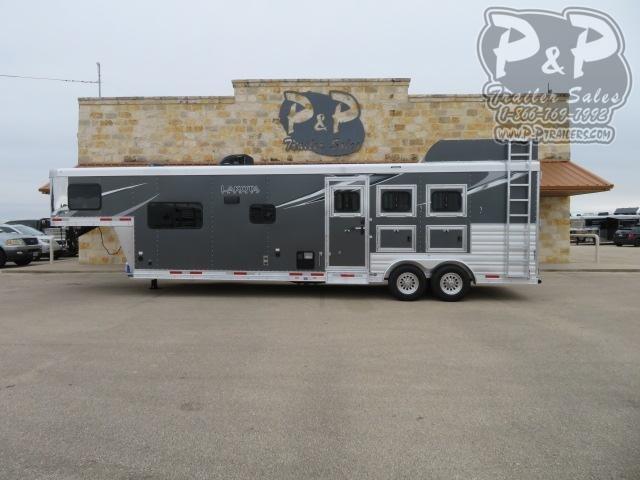 2021 Lakota Charger C8313.5NS 3 Horse Slant Load Trailer 13.5 FT LQ