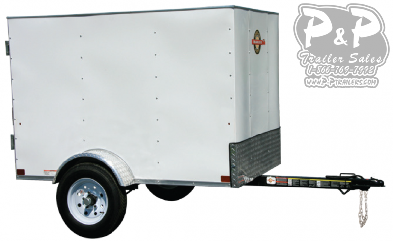 2021 Carry-On 4X6CG Enclosed Cargo Trailer