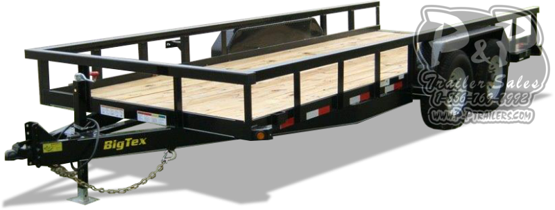 2021 Big Tex Trailers 14PI-16BK 16 ' Equipment Trailer