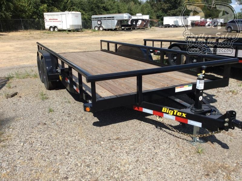 2021 Big Tex Trailers 10PI-18BK Equipment Trailer