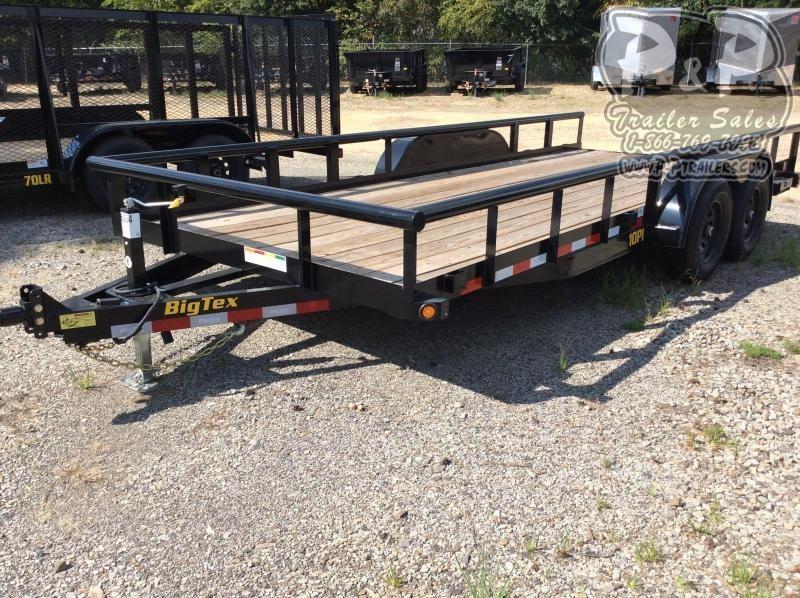 2021 Big Tex Trailers 10PI-18BK Equipment Trailer