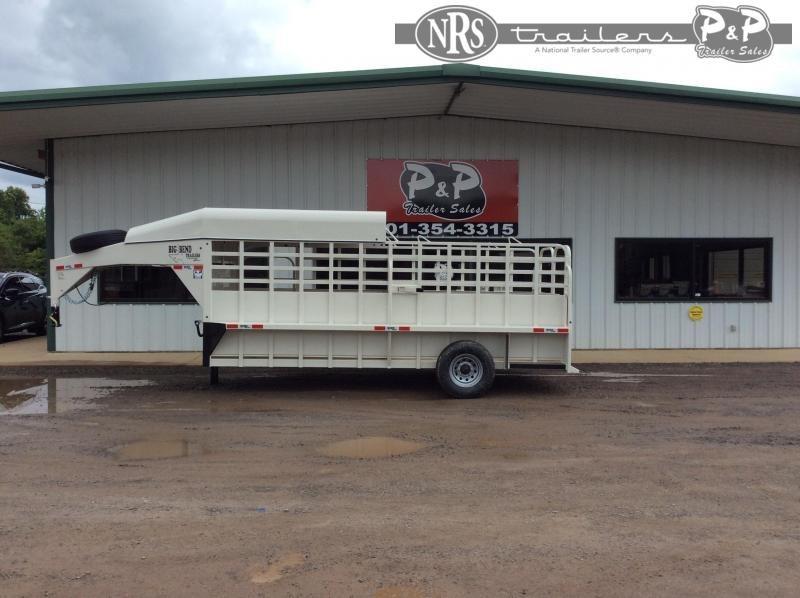 2021 Big Bend 166SAHT 16 ' Livestock Trailer