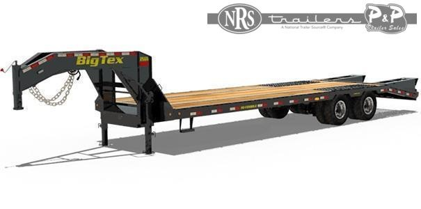 2021 Big Tex Trailers 25GN-35BK+5MR 40 ' Flatbed Trailer