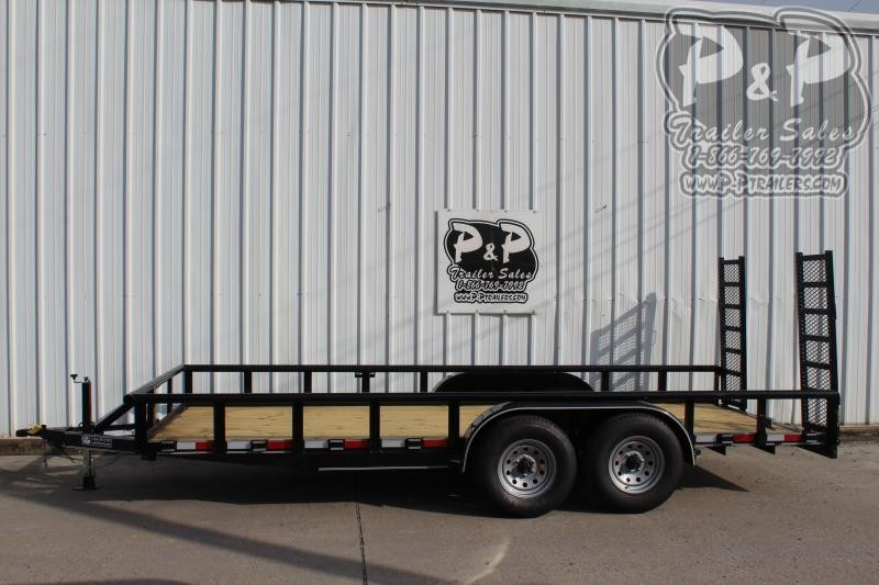 2019 P and P PPTA18X83MDFURPT Utility Trailer