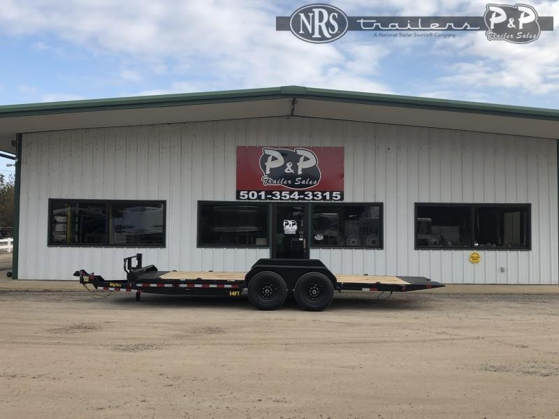 2021 Big Tex Trailers 14FT-20BK 20 ' Equipment Trailer