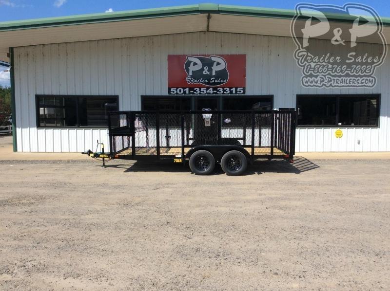 2021 Big Tex Trailers 70LR-16BK-P4 Utility Trailer