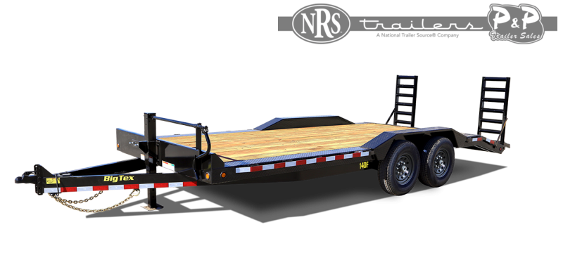 2021 Big Tex Trailers 14DF-22BK 22 ' Equipment Trailer