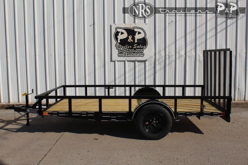 2021 P and P PPSA12X77LDRGPT 12 ' Utility Trailer