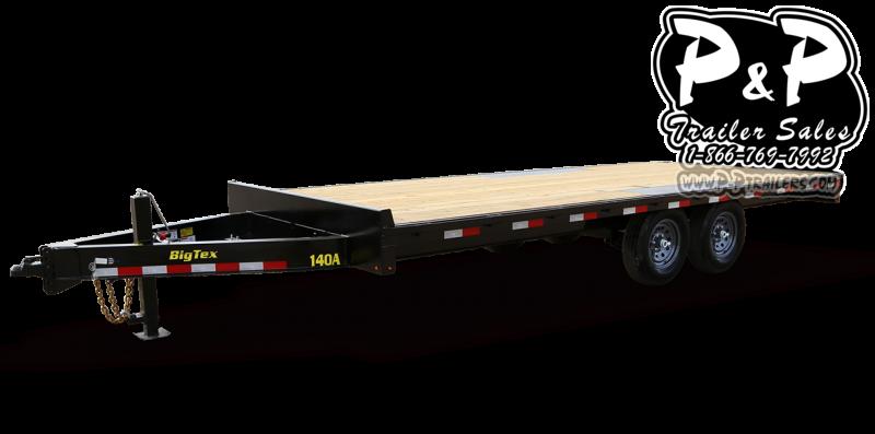 2021 Big Tex Trailers 14OA-16BK-8SIR 14 ' Flatbed Trailer