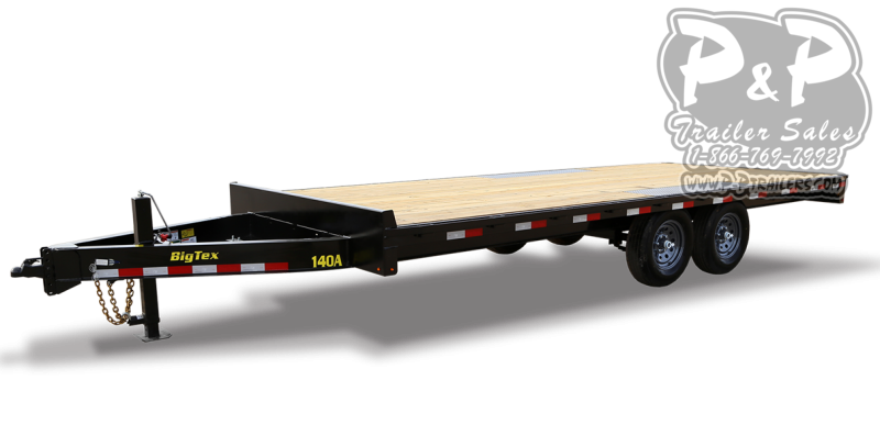2021 Big Tex Trailers 14OA-16BK-8SIR 14 ' Flatbed Trailer