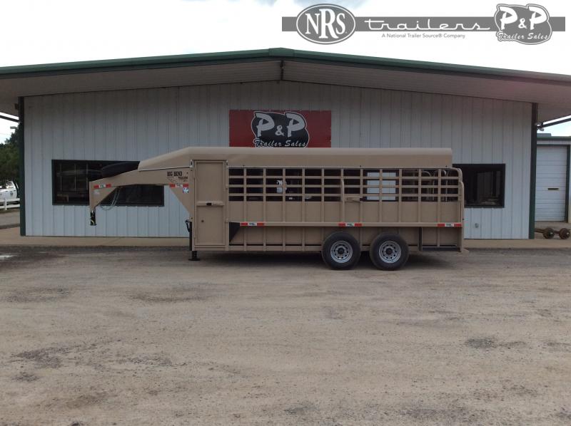 2021 Big Bend 1868DAFTSP 18 ' Livestock Trailer