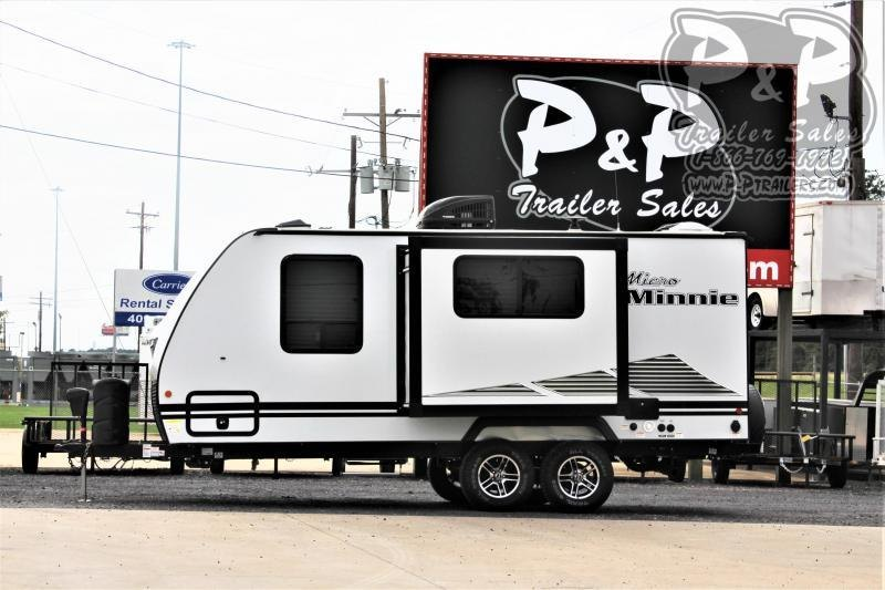 2021 Winnebago Micro Minnie 2108FBS 22 ' Travel Trailer RV