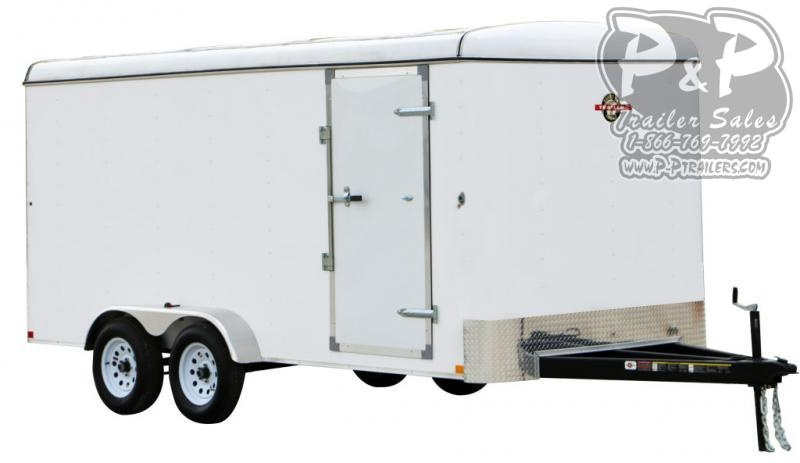 2021 Carry-On 7X12CGEC Enclosed Cargo Trailer