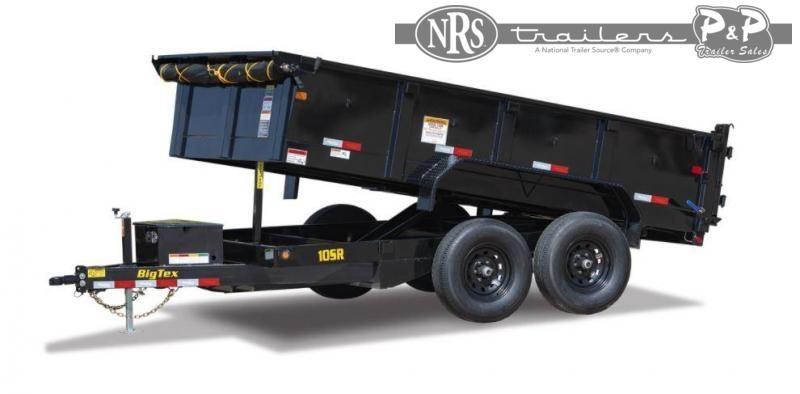 2022 Big Tex Trailers 10SR-12XLBK6SIR 12 ' Dump Trailer