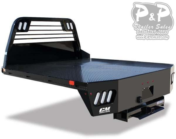 CM RD2 Steel Flat Deck 86x97x56 Truck Bed