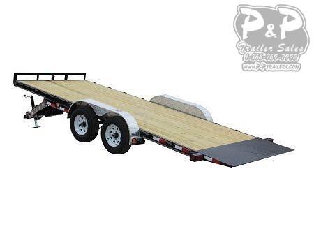 2020 PJ Trailers 83 in. Hydraulic Quick Tilt (TH) Equipment Trailer