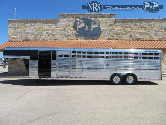 2021 Bloomer 8x29 Club Calf 29 ' Livestock Trailer