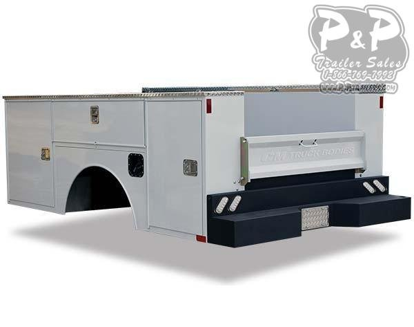 CM SB Steel Service Body Truck Bed