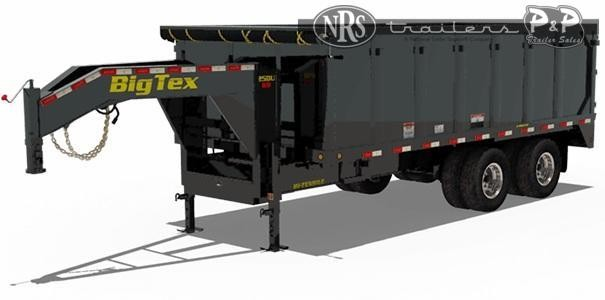 2021 Big Tex Trailers 25DU-18 18 ' Dump Trailer