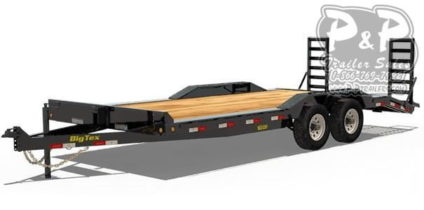 2021 Big Tex Trailers 10DF-20 Equipment Trailer